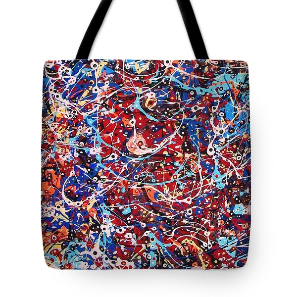 Lost In A Crowd Tote Bag