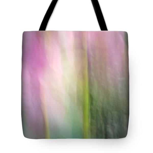Lotus Flower Impression Tote Bag by Catherine Lau