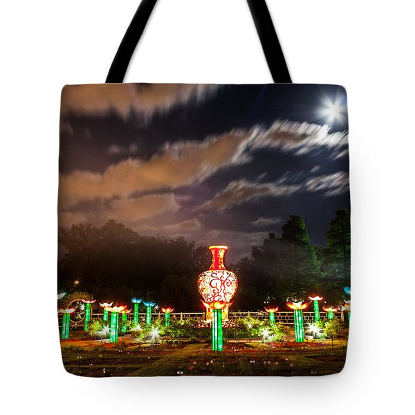 Lotus Ponds Tote Bag by Semmick Photo