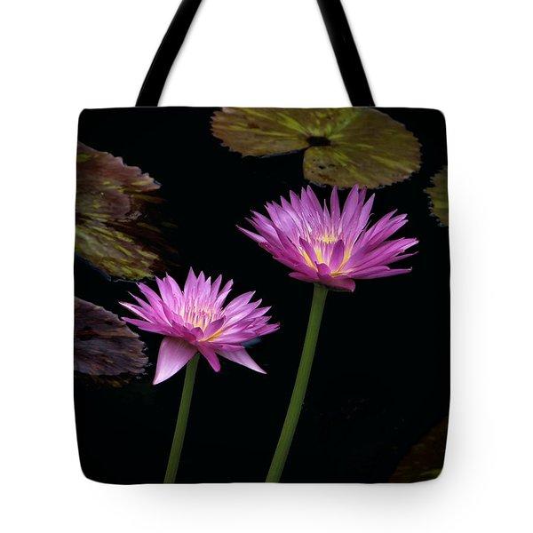 Lotus Water Lilies Tote Bag