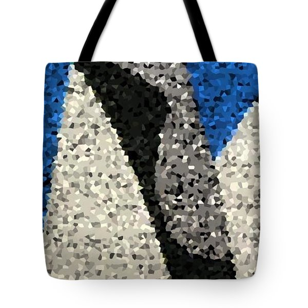 Lou Reed Tribute White Light Texture Tote Bag