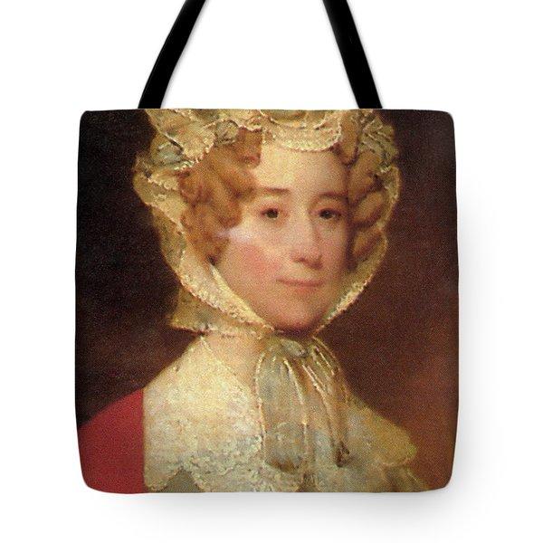Louisa Adams Tote Bag by Photo Researchers