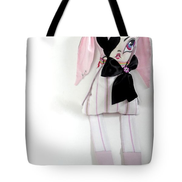 Loulou Tote Bag by Oddball Art Co by Lizzy Love