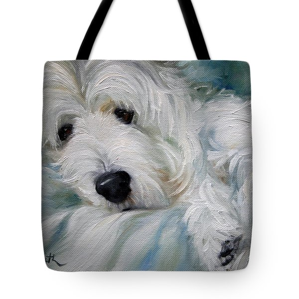 Lounging In The Shadows Tote Bag by Mary Sparrow