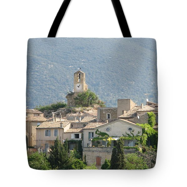 Lourmarin In Provence Tote Bag by Carla Parris
