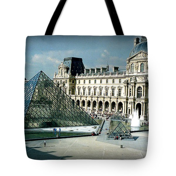 Louvre Tote Bag by Kathy Bassett