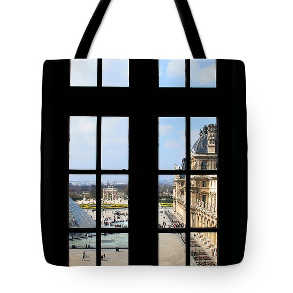 Louvre Window Tote Bag