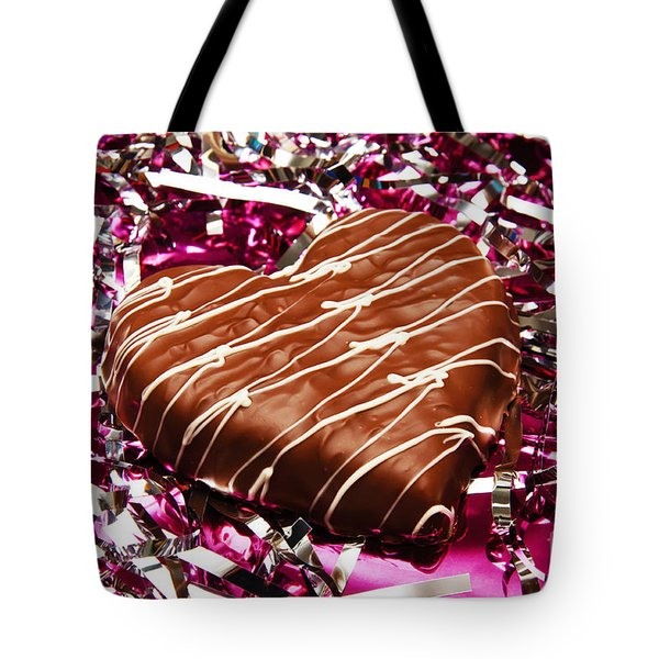 Love And All That Glitters Tote Bag by Andee Design