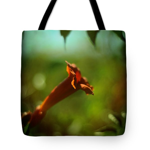 Love Flows Down Tote Bag by Rebecca Sherman