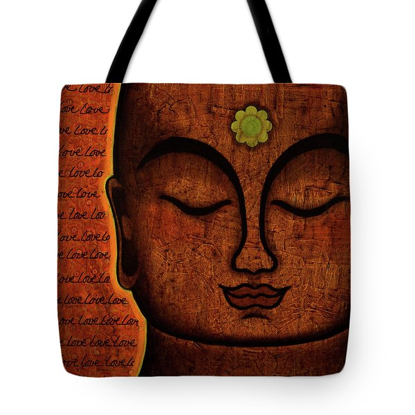 Tote Bag featuring the painting Love by Gloria Rothrock