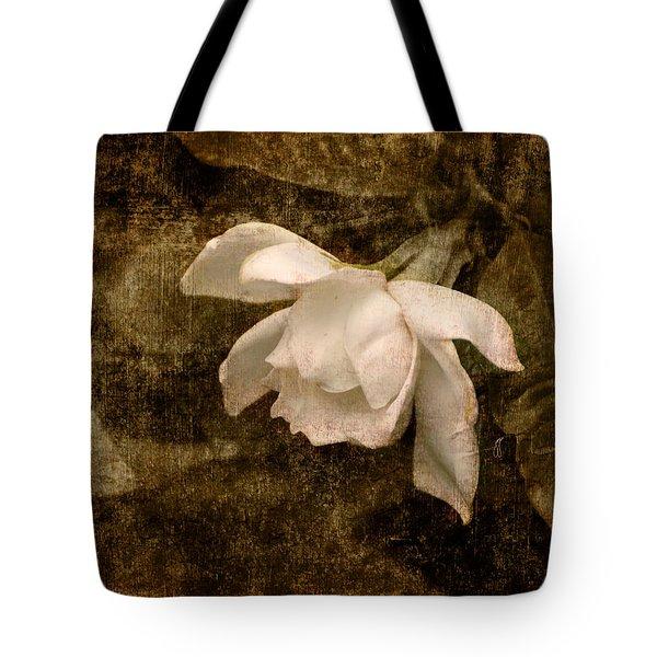 Love Letter Ix Cape Jasmine Gardenia Tote Bag by Jai Johnson