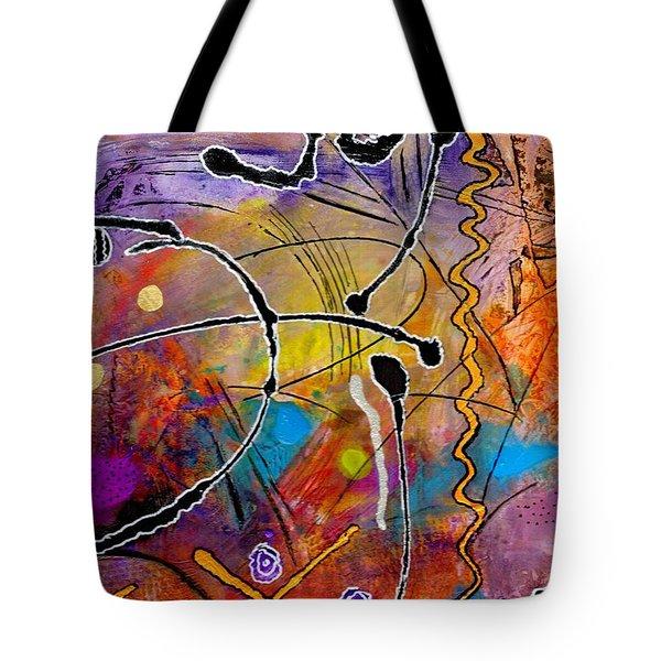 Love Of Life Series - Joy Tote Bag by Angela L Walker