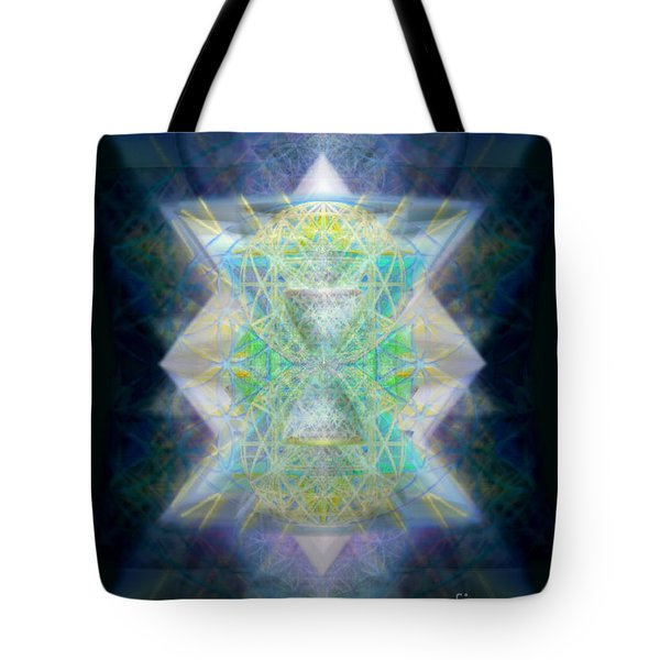 Love's Chalice From The Druid Tree Of Life Tote Bag