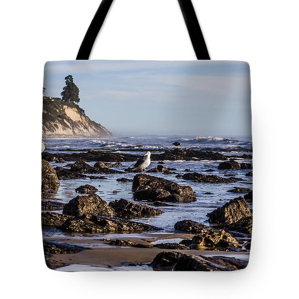 Low Tide Tote Bag by Marta Cavazos-Hernandez