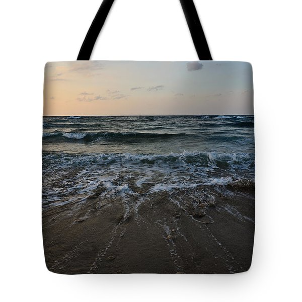 Tote Bag featuring the photograph Low Tide by Michael Goyberg