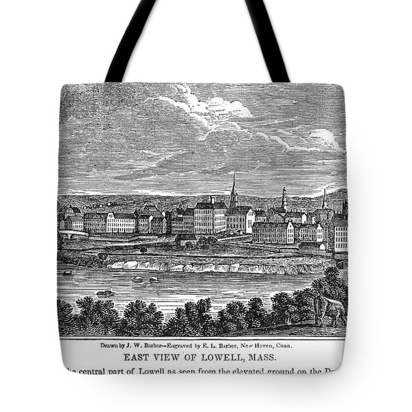 Lowell: Factories, 1844 Tote Bag by Granger