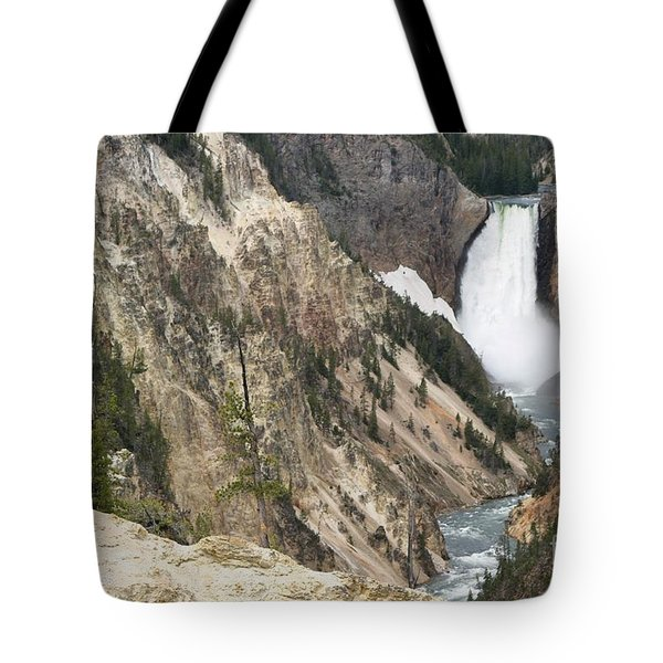 Lower Falls Another View Tote Bag by Living Color Photography Lorraine Lynch