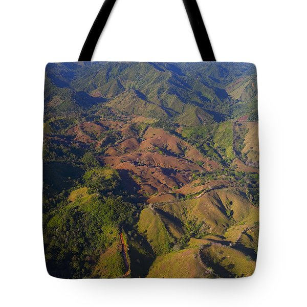 Lowland Tropical Rainforest Cleared Tote Bag