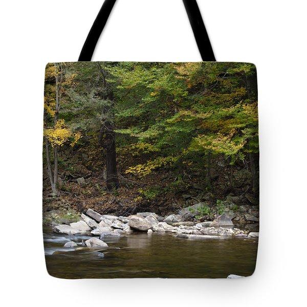 Loyalsock Creek Flowing Gently Tote Bag