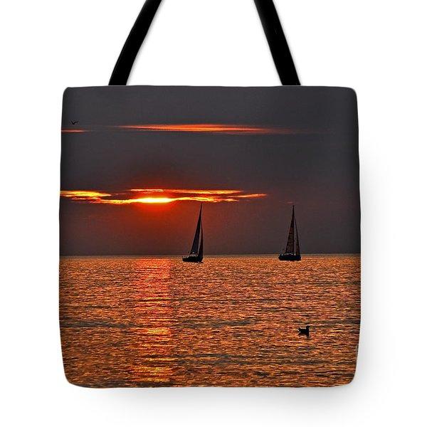Coral Maritime Dream Tote Bag