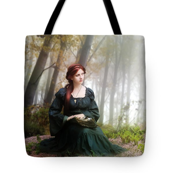 Lucid Contemplation Tote Bag by Mary Hood