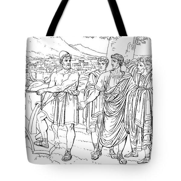 Lucius Cincinnatus Tote Bag by Granger