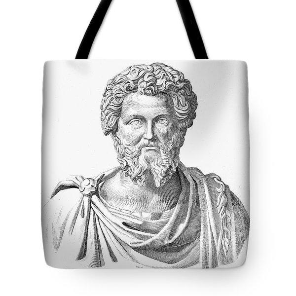 Lucius Septimius Severus Tote Bag by Granger