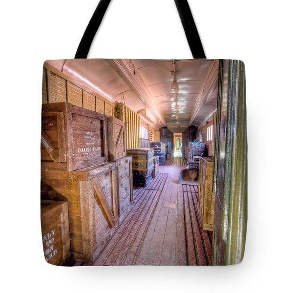 Luggage Car Tote Bag