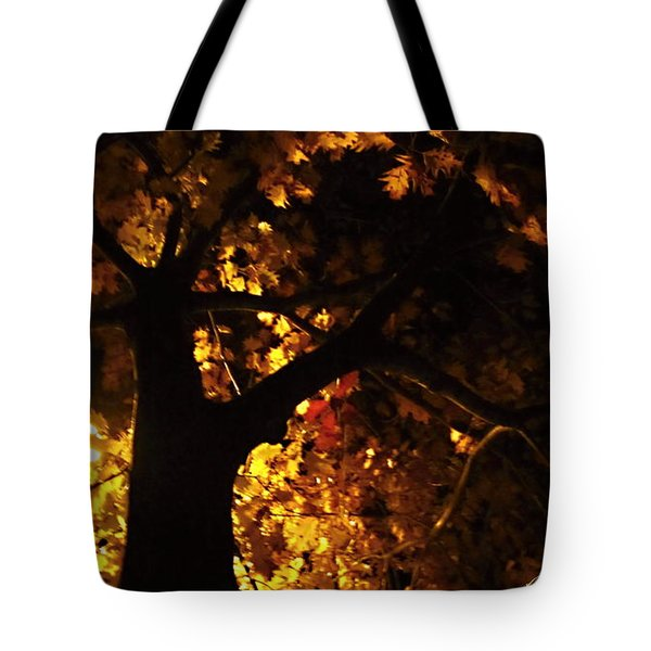 Luminous Deciduous Tote Bag