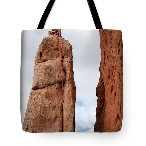 Lunch In The Mountains Tote Bag by Randy J Heath