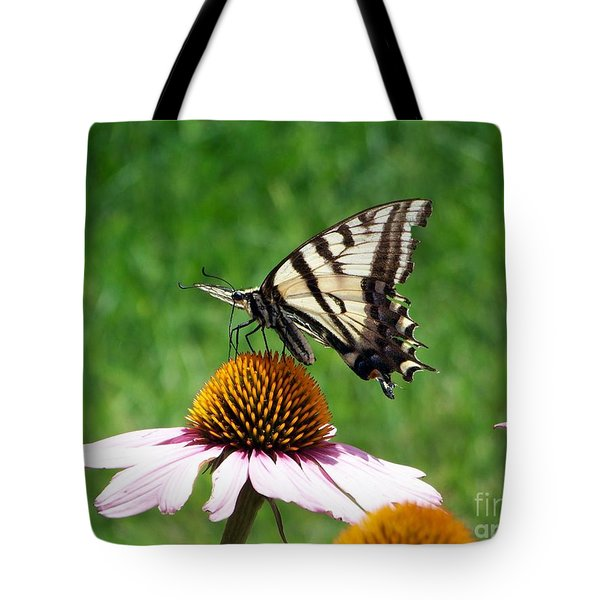 Lunch Time Tote Bag by Dorrene BrownButterfield