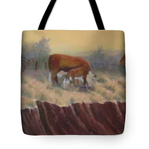 Lunch Time Tote Bag by Jan Holman