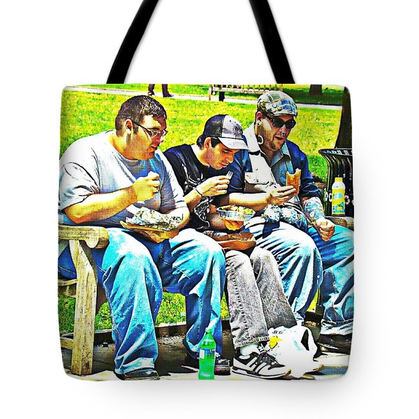 Tote Bag featuring the photograph Lunchtime by Alice Gipson