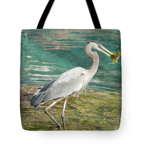 Tote Bag featuring the photograph Lunchtime by Laurel Best