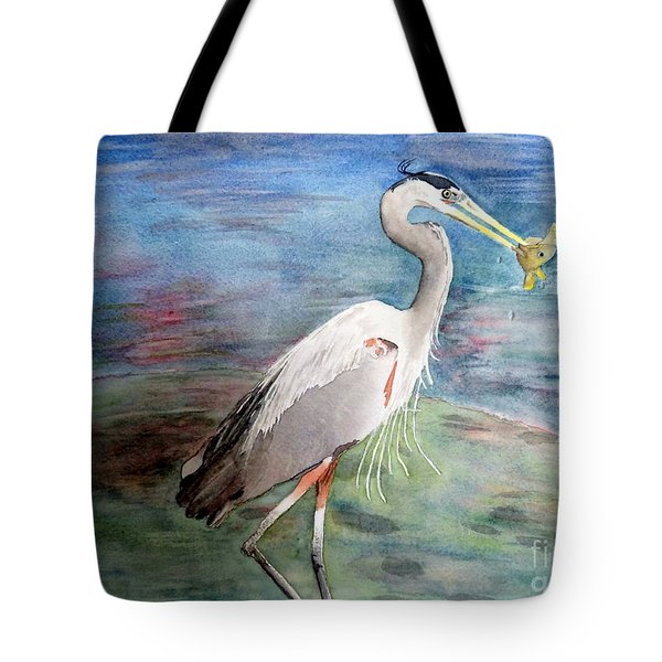 Lunchtime Watercolour Tote Bag