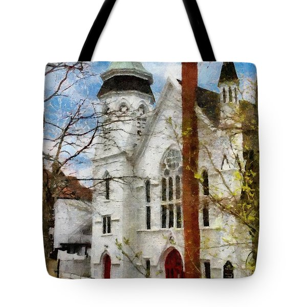 Lunenburg United Tote Bag by Jeff Kolker