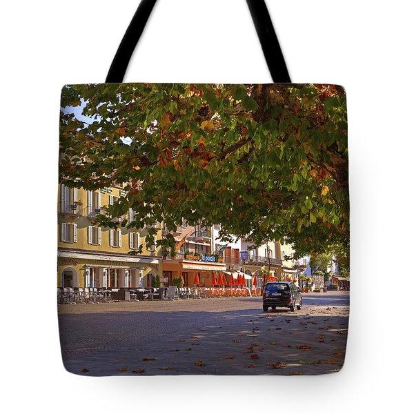 Lungolago Ascona Tote Bag by Joana Kruse