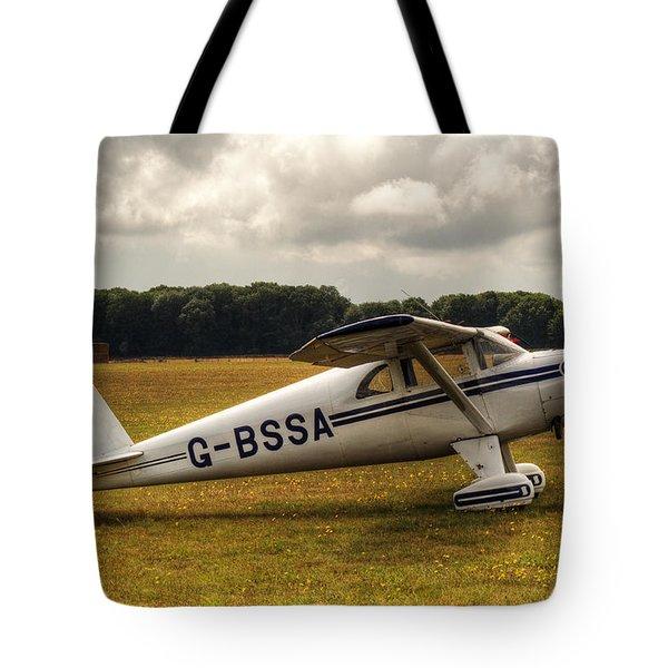 Luscombe 8e Deluxe 2 Seater Plane Tote Bag