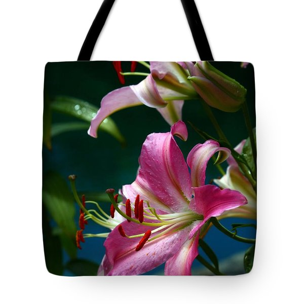 Lushes Fragrant Lilies Tote Bag