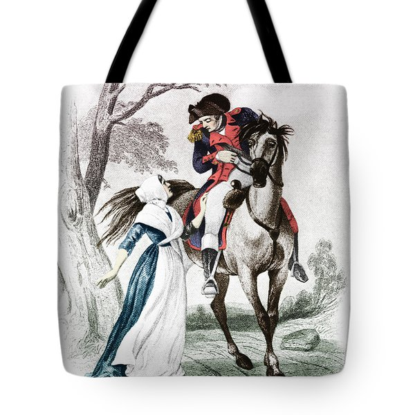 Lydia Darragh, American Patriot Tote Bag by Photo Researchers