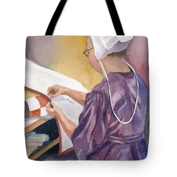 Lydia Tote Bag by Marsha Elliott