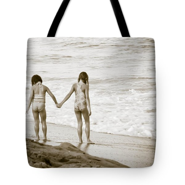 M Is For Memories Tote Bag by Trish Tritz