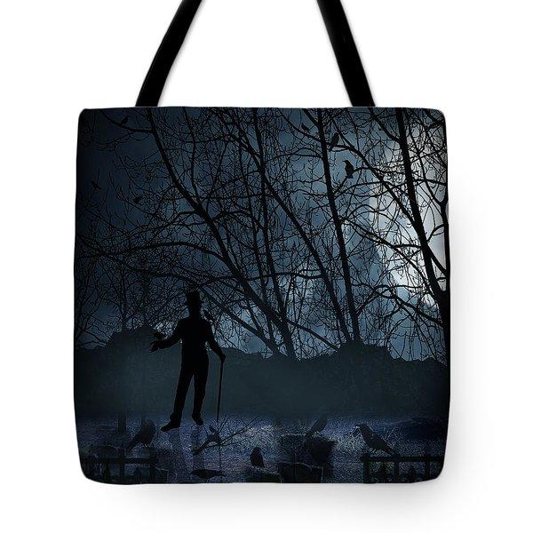 Macabre Tote Bag by Lourry Legarde