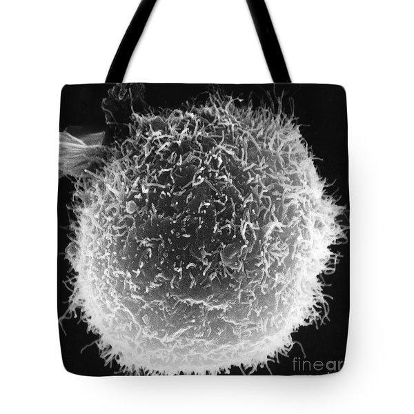 Macrophages On Lymphocyte Tote Bag