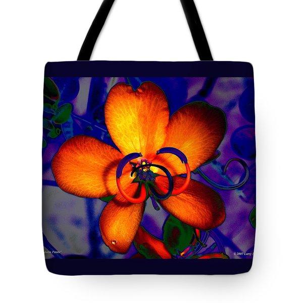 Madarin Petals Tote Bag