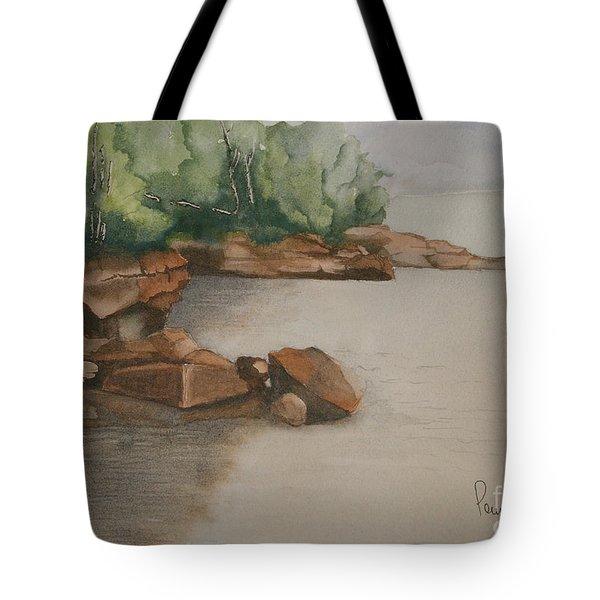Madeline Island Shoreline Tote Bag