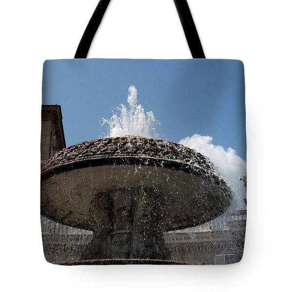 Maderno's Fountain Tote Bag
