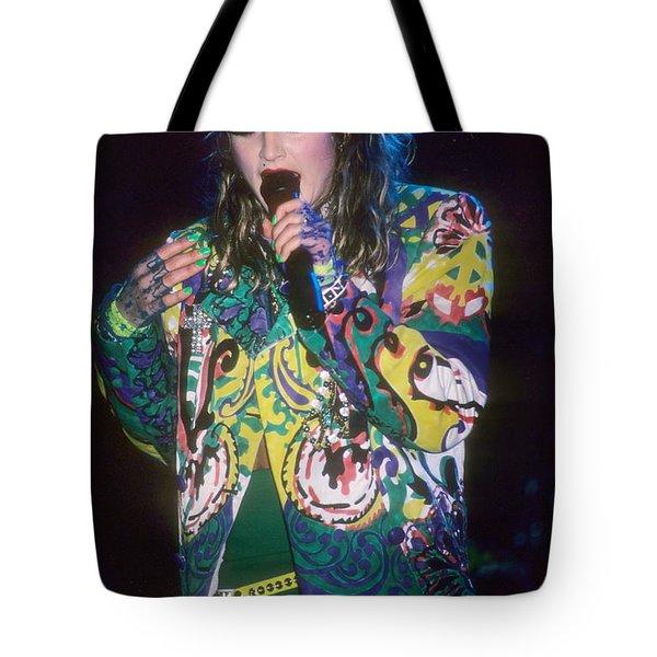 Madonna 1985 Tote Bag by David Plastik