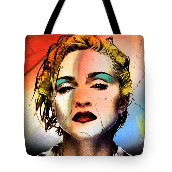 Madonna  Tote Bag by Mark Ashkenazi