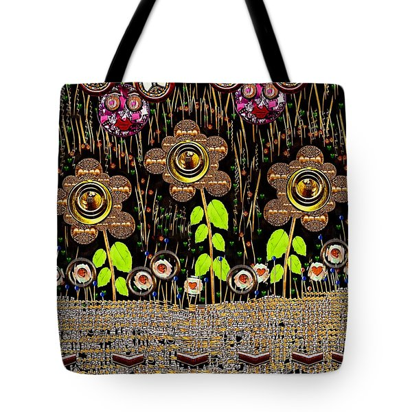 Magic Is Here To Stay Pop Art Tote Bag by Pepita Selles